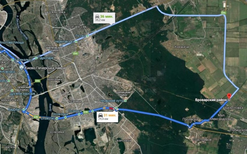 Продажа / Земля коммерческого назначения / ул. Броварская, c.Безугловка
