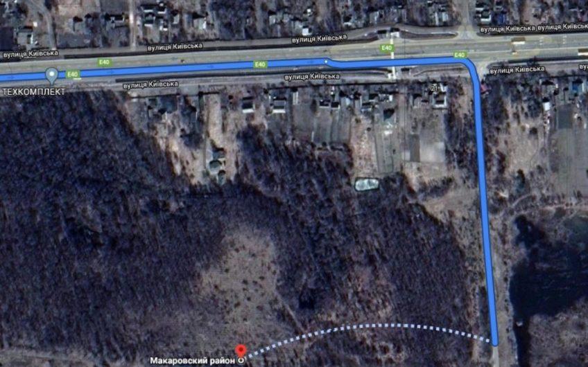 Продажа замечательного участка в лесу с подъездным путем! Калиновка, Макаровский район