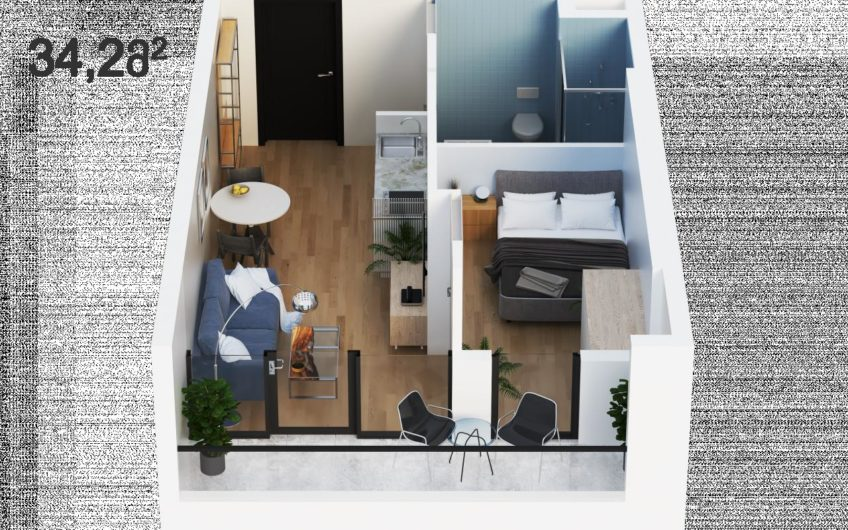 Апартаменти преміум класу в Грузії- інвестиційна нерухомість