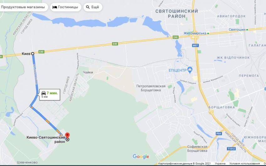 10,17 га под коттеджное строительство, Белогородка $1,000
