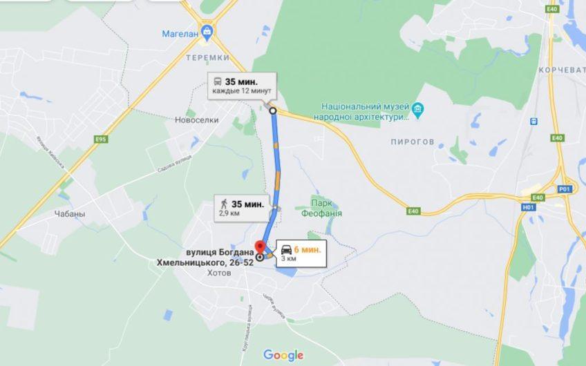 Продажа участка 36 соток с коммуникациями и постройками в с. Хотов Киево-Святошинский район